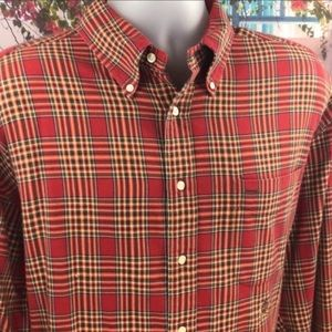 Vintage Tommy Hilfiger Red Plaid Button Down
